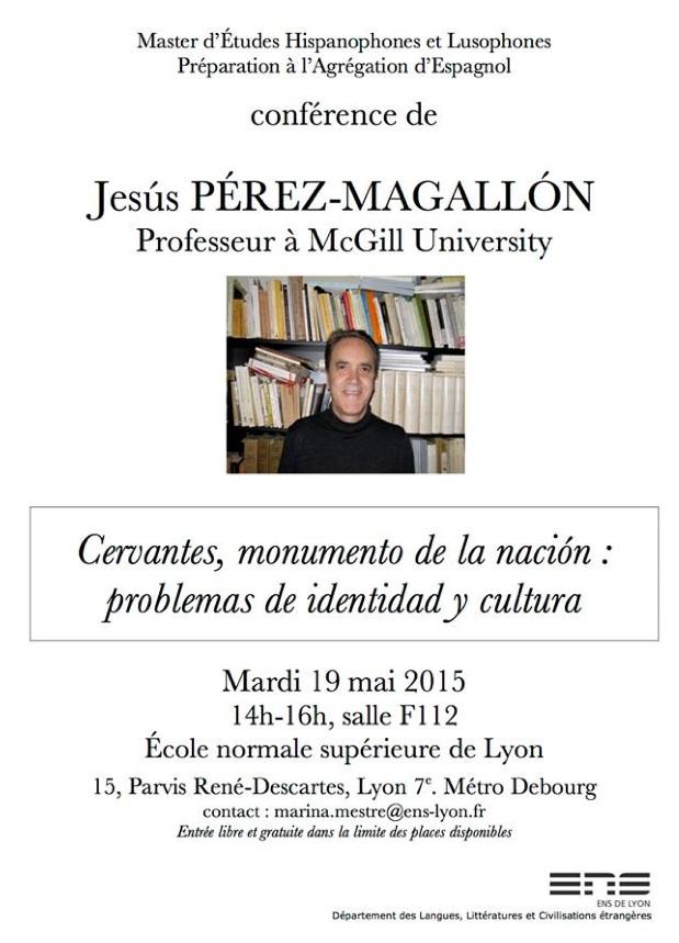 Conferencia de Jesús Pérez-Magallón